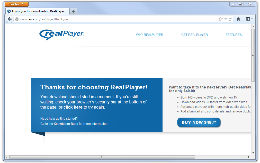 Realplayer free download old version.